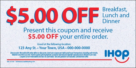 Coupons : IHOP, Local Store Marketing Materials from Smith ...