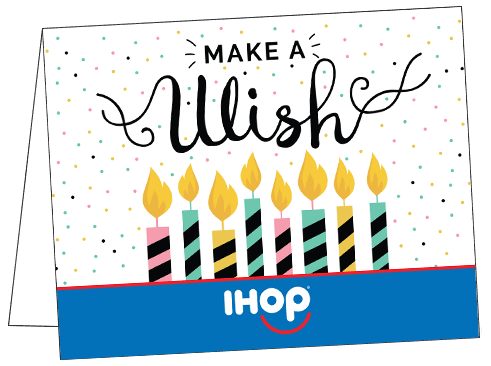 Birthday Note Cards Ihop Local Store Marketing Materials From